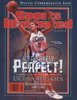 Sue Bird UCONN Basketball SIGNED Commemorative Sports Illustrated No Label COA!
