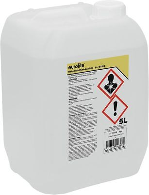 5 L Liter Nebel Fluid Flüssigkeit langanhaltend für Nebel Smoke Maschine NEU (Flüssigkeit Für Nebelmaschine)