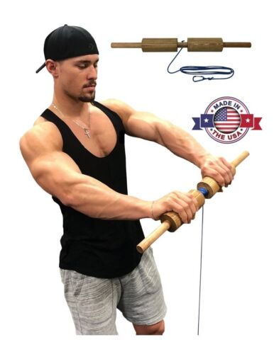 Wrist Blaster 2.5 - Forearm, Hand and Wrist Roller Exerciser (Cylinder)
