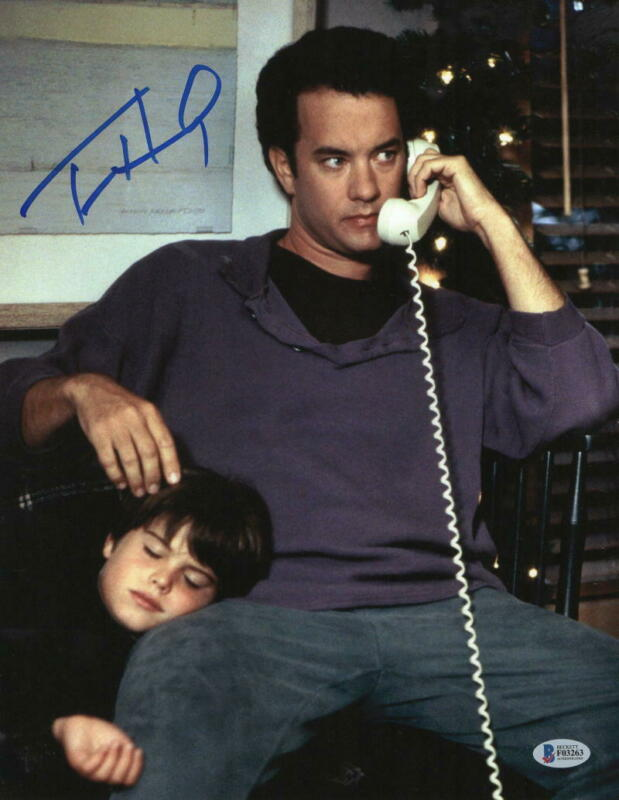 TOM HANKS SIGNED 11X14 PHOTO SLEEPLESS IN SEATTLE AUTHENTIC AUTOGRAPH BECKETT