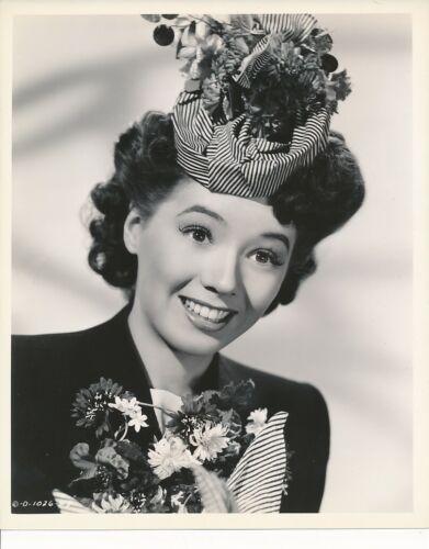 JEFF DONNELL Original Vintage 1944 JOE WALTERS Columbia Pictures Portrait Photo