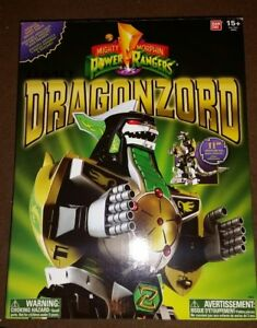 Mighty Morphin Power Rangers Legacy Dragonzord New GREEN RANGER