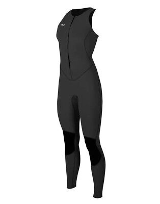 O Neill Women Size 6 1.5mm Bahia Jane Wetsuit Black Black Full Length  Sleeveless 91f26301a