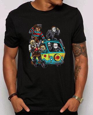🔥 The Massacre Machine Horror Movies Parody T-Shirt Funny scary fans shirt - Scary Horror Movies