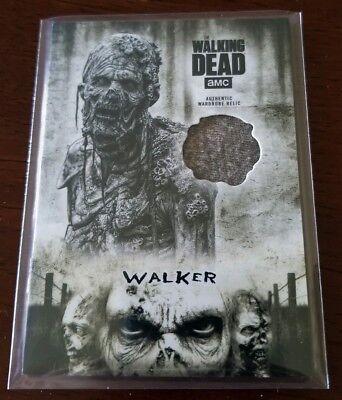 Walking Zombie Costume (Zombie Walker 2018 Topps Walking Dead Hunters Hunted SP Multicolor Costume)