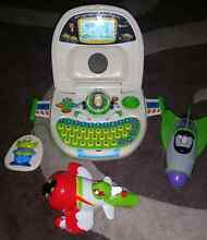 Boys toy bundle. Buzz lightyear laptop, Buzz in rocket and Plane Taree Greater Taree Area Preview