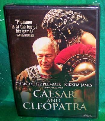 Caesar Cleopatra (NEW RARE OOP CHRISTOPHER PLUMMER CAESAR AND CLEOPATRA THEATRICAL PLAY DVD)
