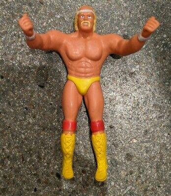 1984 Hulk Hogan LJN WWF Wrestling Figure WWE Hulkamania Titan Sports