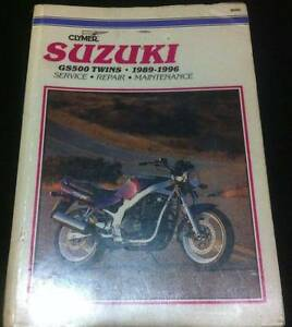 Suzuki GS500 Service Manual and User's Guide Telarah Maitland Area Preview
