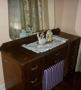 Retro dressing table with mirror Plympton West Torrens Area Preview