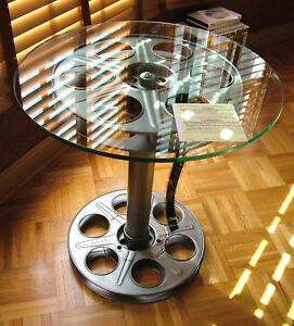Home Theater Movie Reel Table