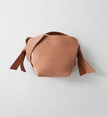 Acne Studios NWT Musabi Mini Suede Pink Bag MSRP $950