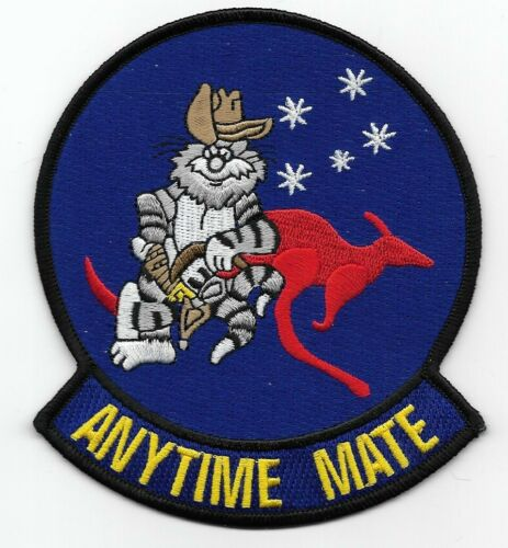"""F-14 Tomcat VF-51A  """"Anytime Mate"""" patch"""