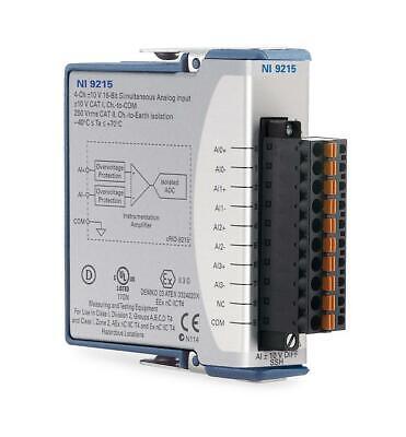 New - National Instruments Ni 9215 Cdaq Analog Input Module Simultaneous Sample