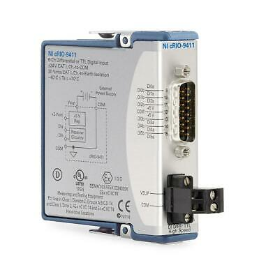 New - National Instruments Ni 9411 Cdaq Differential Digital Input Module