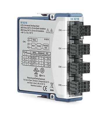 New - National Instruments Ni 9219 Cdaq Universal Analog Input Module