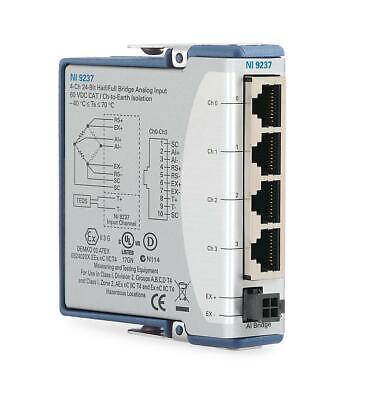 New - National Instruments Ni 9237 Cdaq Strain Bridge Input Module Rj50