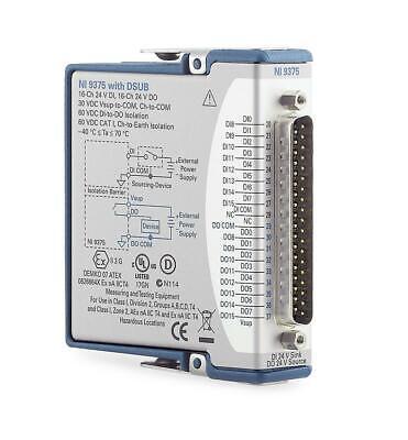 New - National Instruments Ni-9375 Cdaq Digital Input Output Dio Module D-sub