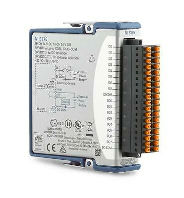 New - National Instruments Ni-9375 Cdaq Digital Input Output Dio Module