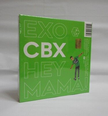 EXO-CBX 1st Mini Album [Hey Mama!] Chen Ver. CD + Photobook + Photocard Sealed