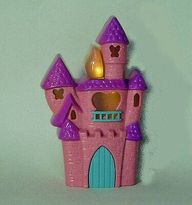 Princess Castle Blowouts Magical Cake Topper - Electric Birthday Candle