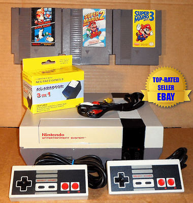 Nintendo Nes Console Bundle   Super Mario Bros 1 2   3   Best Pins   Guaranteed
