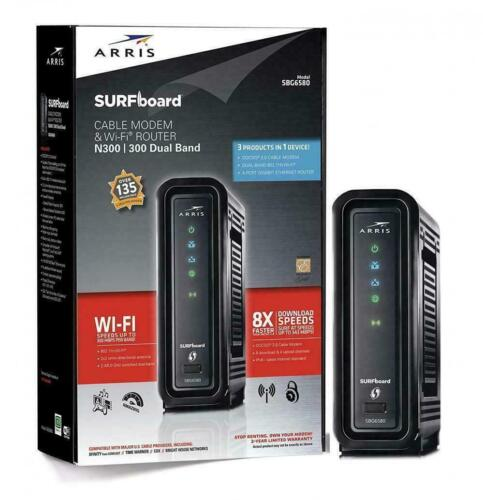 Cable Modem WiFi Router Xfinity Comast Cox Time Warner Charter Internet Wireless