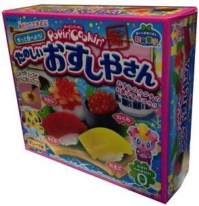 Kracie popin 39 cookin 39 candy sushi kit from japan diy gummi - Furniture that looks like food ...