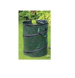 New Pop Up Garden Bag Tidy Waste Bin Refuse Sack Bag Leaves Grass Cutting