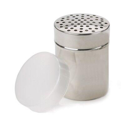 RSVP 18/8 Stainless Steel All Purpose Cheese/Coarse Salt/Pepper Shaker Server