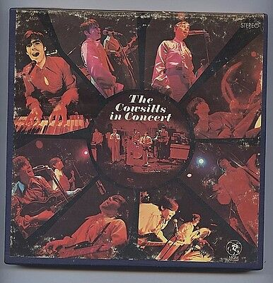 The Cowsills In Concert RARE Reel To Reel Tape 4 Track 3 3/4 IPS MGM X 4619