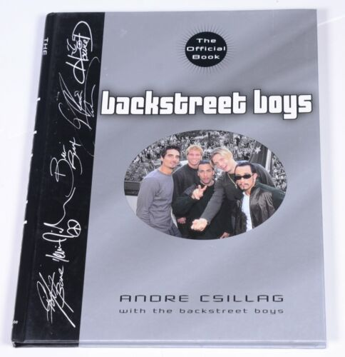 The Official Book 2000 Andre Csillag with the BACKSTREET BOYS Hardcover