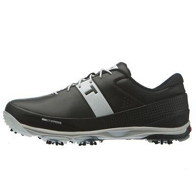 TRUE Linkswear Game Changer Pro Men's Golf Shoes - Black/White - 11.5 Medium