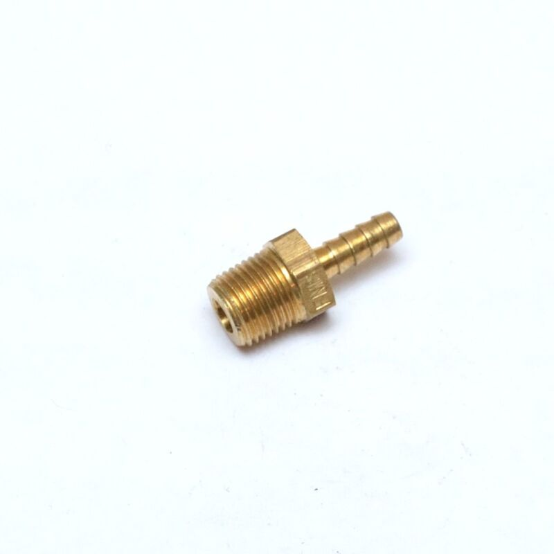 Straight 1/8 ID Hose Barb 1/8 Male NPT Brass Barbed Fitting FasParts