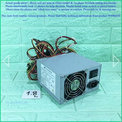 Fsp Fsp460-60pfg, Power Supply 460w As Photo, Sn:0267, Used, Promotion.