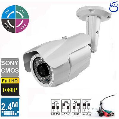 - License Plate TVI Camera 2.4MP 1080P Long Range 5-50mm Lens 84 IR LEDs Sony CMOS