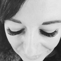 volume lashes for $100 available in sundays!