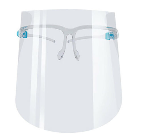 10 Reusable Safety Glasses Face Shield, Transparent Protective Sheild Anti-Fog