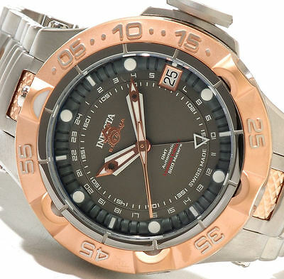 INVICTA SUBAQUA NOMA V LIMITED EDITION 24-JEWEL ETA A07.171 AUTO GMT - GREY DIAL
