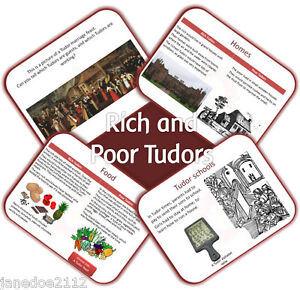 RICH & POOR TUDORS - KS2 History - IWB and worksheets Primary Teaching Resources