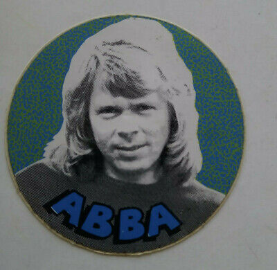 ABBA sticker autocollant vinyl 70's original
