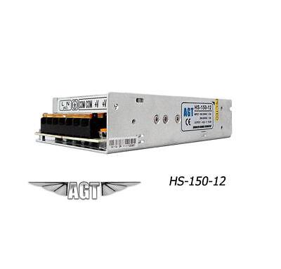 DC 12V Regulated Power Supply 150W 12.5A Driver for LED Strip Lights CCTV Camera