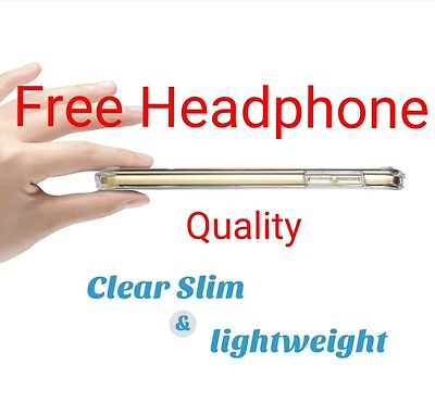 Apple iPod Touch 6 & 5 Ultra Thin Clear Gel Case & FREE HEADPHONE BEST