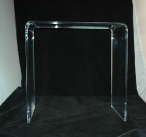 Lovely Clear Acrylic Lucite 1/2