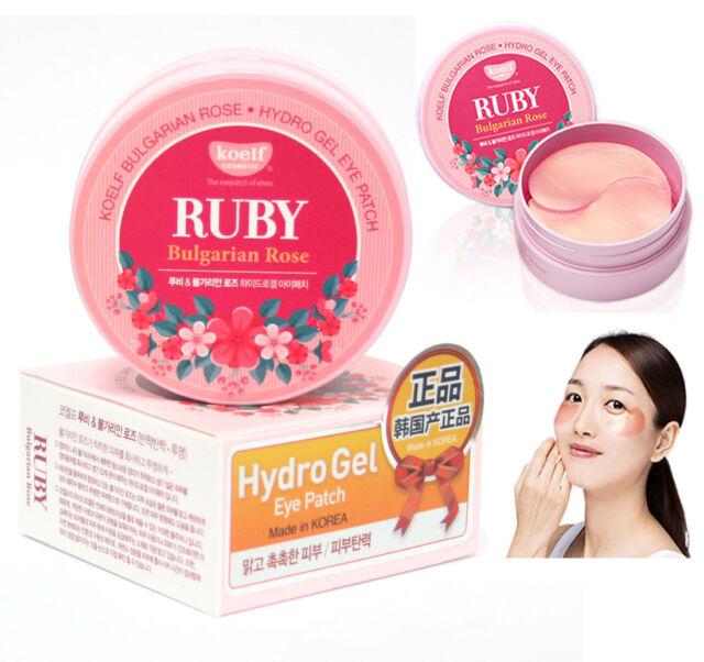 [Koelf] Ruby Bulgarian Rose Hydro Gel Eye Patch 60pcs/30pairs / Korean Cosmetics