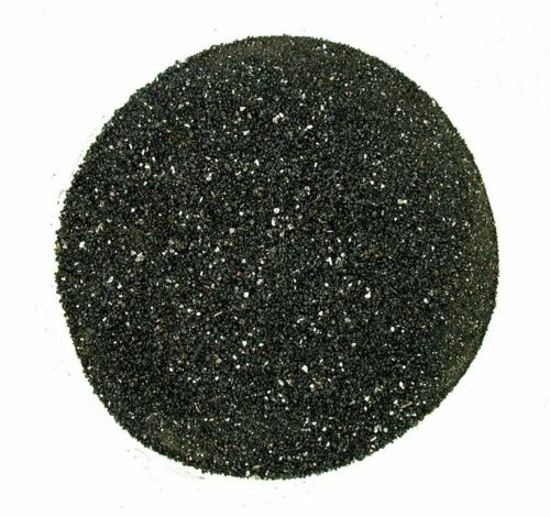 1/2 Pound 8 Ounces No Dye Natural  Black Tourmaline Inlay Powder 2mm & Less
