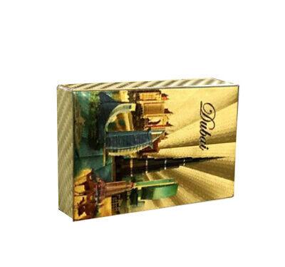 Friend Souvenir Gifts Dubai Commemorative 24k Gold Foil Gold Playing (Gift Cards Dubai)
