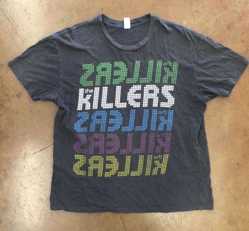 VtgThe Killers 2009 World Concert Tour T-Shirt, Sz XL, Pre Owned
