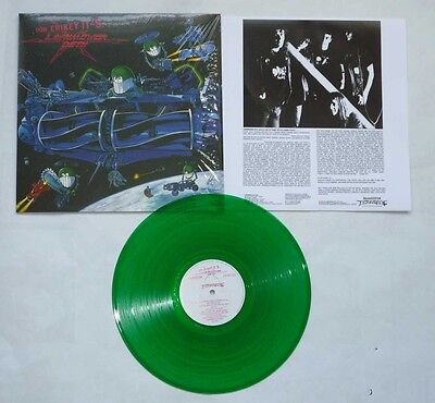 "Lawnmower Deth ""Ooh Crikey It's.."" FDR Transparent Green Vinyl - NEW!"
