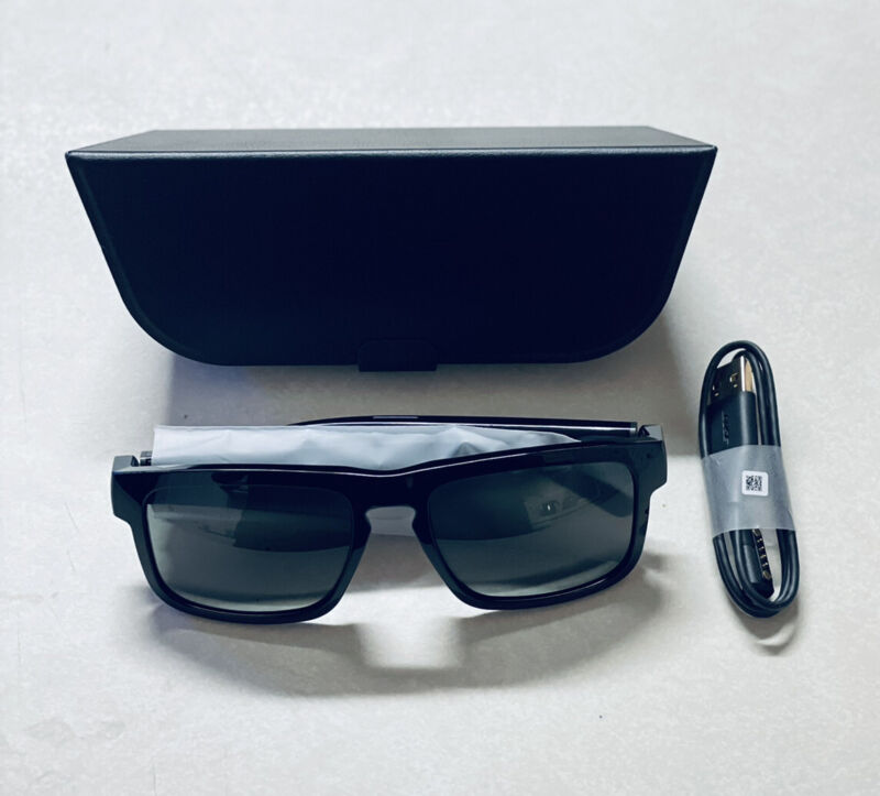 Bose Frames Tenor - Black Rectangular Bluetooth Audio Sunglasses ⭐️⭐️NEW⭐️⭐️
